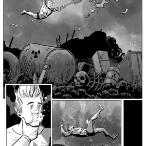 black and white comic