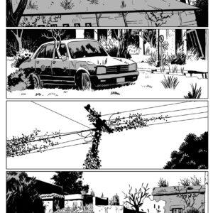comic book art portfolio
