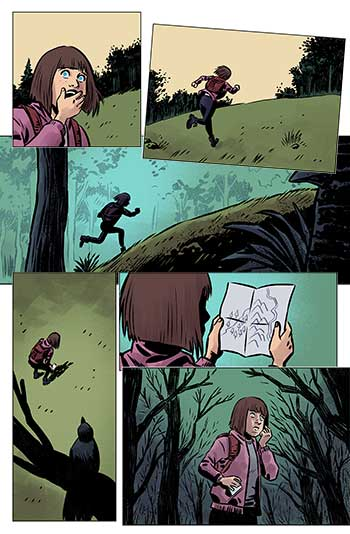 Flujo de lectura en el cómic.